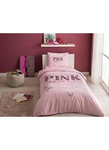 Taç Taç Pink Nevresim Takımı Pembe
